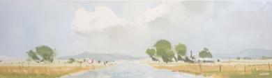 Carretera secundaria 1|PinturadeIñigo Lizarraga| Compra arte en Flecha.es