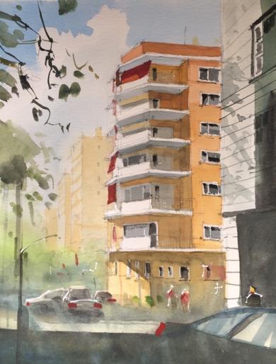 Terrazas 2|PinturadeIñigo Lizarraga| Compra arte en Flecha.es