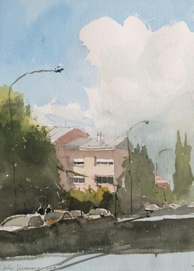 Arturo Soria|PinturadeIñigo Lizarraga| Compra arte en Flecha.es