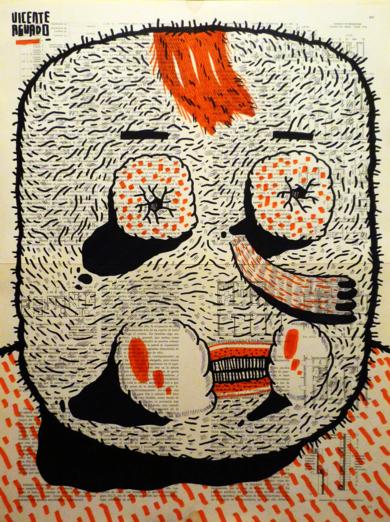 TRAPPIST|DibujodeVicente Aguado| Compra arte en Flecha.es