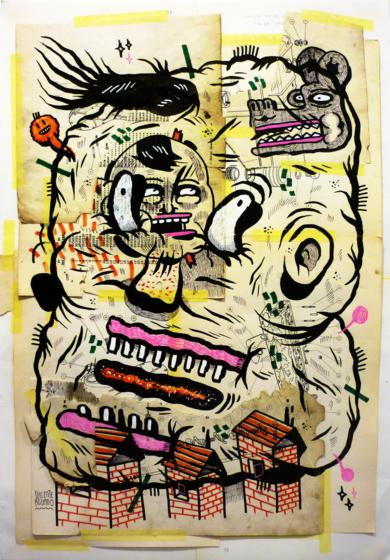 FARADAY CAGE|CollagedeVicente Aguado| Compra arte en Flecha.es