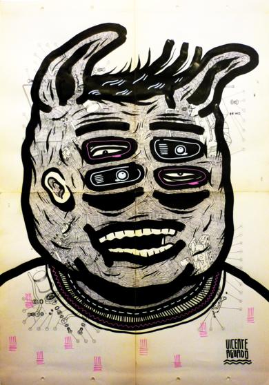 LUTHIER|DibujodeVicente Aguado| Compra arte en Flecha.es