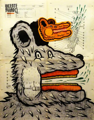 TRONALD DUMP|DibujodeVicente Aguado| Compra arte en Flecha.es
