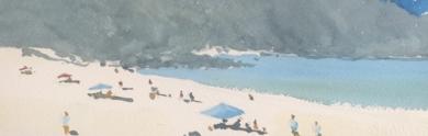 Verano en la ría|PinturadeIñigo Lizarraga| Compra arte en Flecha.es