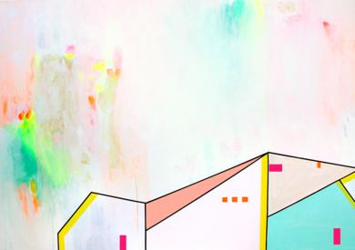 Lugares Habitados-05|PinturadeKinm Bernal| Compra arte en Flecha.es
