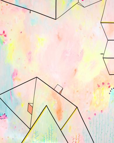 L U G A R E S  H A B I T A D O S _06|PinturadeKinm Bernal| Compra arte en Flecha.es