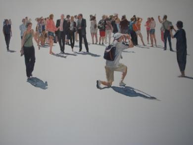 Bruselas Grande Place|PinturadeJESÚS MANUEL MORENO| Compra arte en Flecha.es