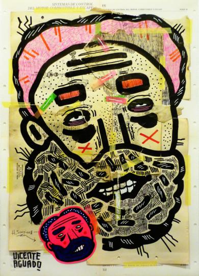 H SCORPIO|CollagedeVicente Aguado| Compra arte en Flecha.es