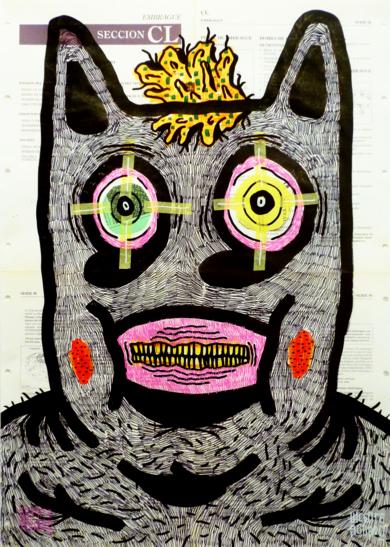 THE BUZZER|DibujodeVicente Aguado| Compra arte en Flecha.es