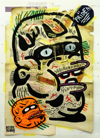 PRIDE|CollagedeVicente Aguado| Compra arte en Flecha.es
