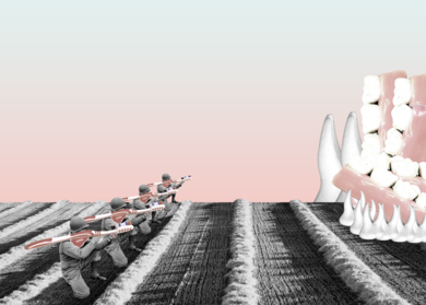 Brush Attack|CollagedeJaume Serra Cantallops| Compra arte en Flecha.es