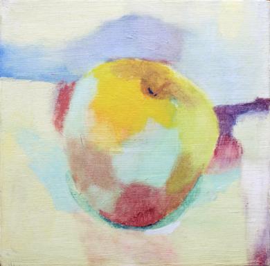 Manzana|PinturadeÁlvaro Marzán| Compra arte en Flecha.es