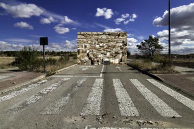 Las  Ciudades  Invisibles. Zora  # 12|DigitaldeJosé M. Feito| Compra arte en Flecha.es