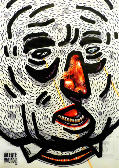 KUATO LIVES|DibujodeVicente Aguado| Compra arte en Flecha.es