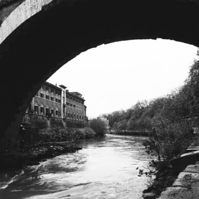 Ponte Fabrizio, Homenaje a Piranesi|FotografíadeBorja de Madariaga| Compra arte en Flecha.es
