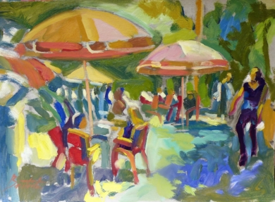 Mousse de moka|PinturadeJosé Bautista| Compra arte en Flecha.es