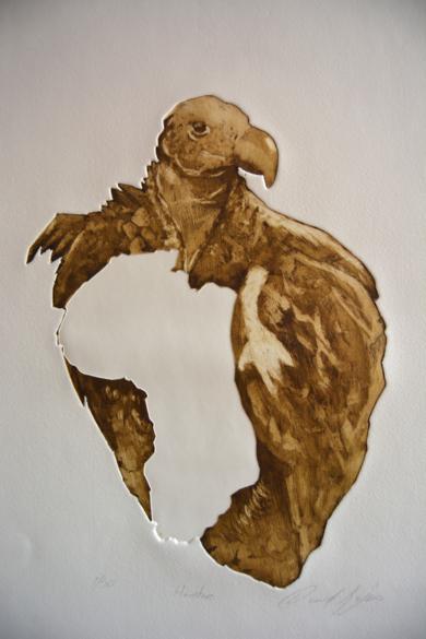 Hambre|Obra gráficadeDavid Rojas| Compra arte en Flecha.es
