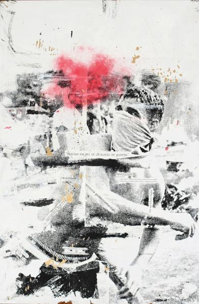 Revolución|Obra gráficadeDavid Rojas| Compra arte en Flecha.es