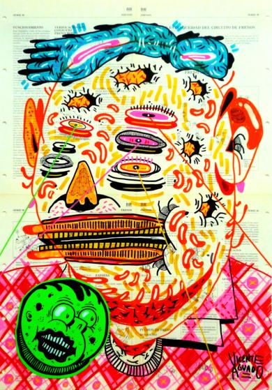 STRICT DISCIPLINE|DibujodeVicente Aguado| Compra arte en Flecha.es