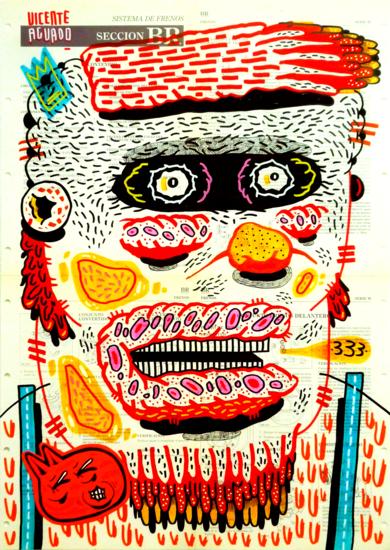 MAYHEM|DibujodeVicente Aguado| Compra arte en Flecha.es