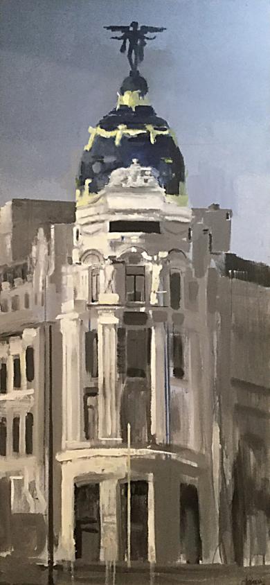 Metropolis Día|PinturadeAdriana Berges| Compra arte en Flecha.es