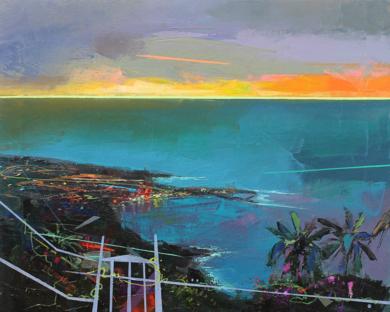 Paraíso 2 ( Puerto de La Cruz )|PinturadeBenito Salmerón| Compra arte en Flecha.es
