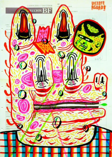 THE MERRY PRANKSTER|DibujodeVicente Aguado| Compra arte en Flecha.es