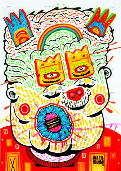 FIDELIO|DibujodeVicente Aguado| Compra arte en Flecha.es