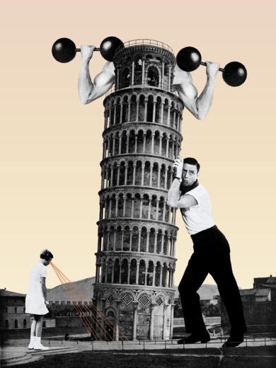 Pisa|CollagedeJaume Serra Cantallops| Compra arte en Flecha.es