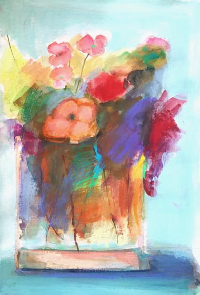 Lugares y Jardines Imaginarios XI|PinturadeTeresa Muñoz| Compra arte en Flecha.es