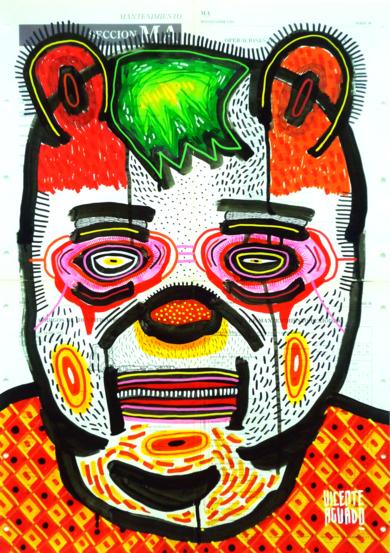 SILENTDORK I|DibujodeVicente Aguado| Compra arte en Flecha.es