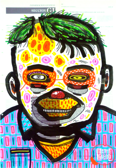 SILENTDORK II|DibujodeVicente Aguado| Compra arte en Flecha.es