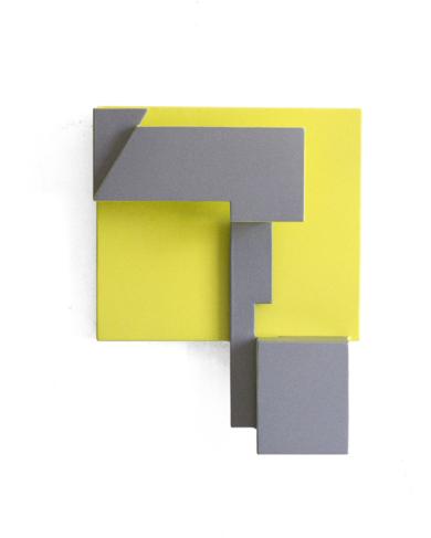Territorios lindantes_02.  Serie amarilla|Escultura de pareddeCandela Muniozguren| Compra arte en Flecha.es
