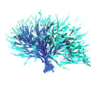 Azure 3|DigitaldeMarta Caldas| Compra arte en Flecha.es