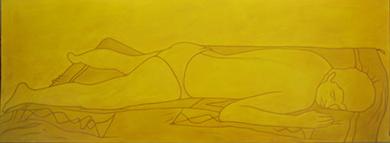 Ocre amarillo|PinturadeCova Mejía| Compra arte en Flecha.es