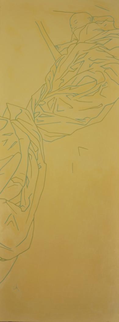Verde Ocre|PinturadeCova Mejía| Compra arte en Flecha.es
