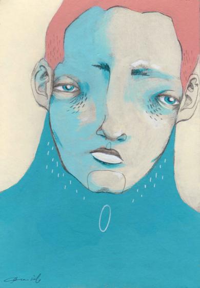 Estudio masculino n.4, Alejandro [Original]|IlustracióndeBran Sólo| Compra arte en Flecha.es