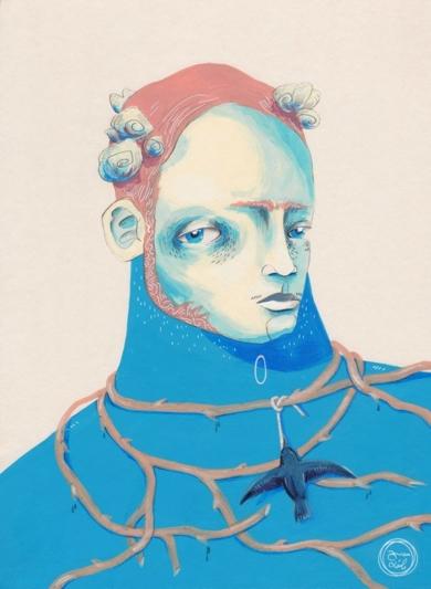Frido [Original]|IlustracióndeBran Sólo| Compra arte en Flecha.es