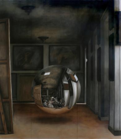 Todo lo visible descansa en un fondo invisible|Imagen en movimientodeEnrique González| Compra arte en Flecha.es