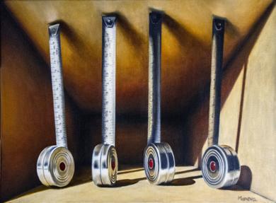 'la medida de las cosas'|PinturadeAlicia Moneva| Compra arte en Flecha.es
