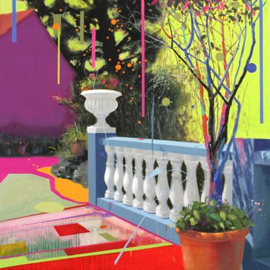 Paisaje Re-leido Nº 5|PinturadeBenito Salmerón| Compra arte en Flecha.es