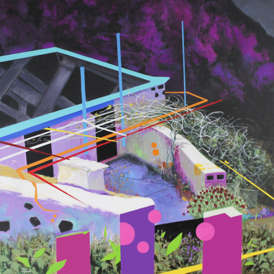 Paisaje Re-leido Nº 6|PinturadeBenito Salmerón| Compra arte en Flecha.es