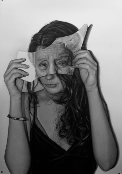 Cronofobia|DibujodeJose Díaz Ruano| Compra arte en Flecha.es