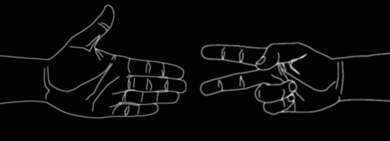 Pequeñas batallas - Piedra Papel Tijera|DigitaldeDavid Ortega| Compra arte en Flecha.es