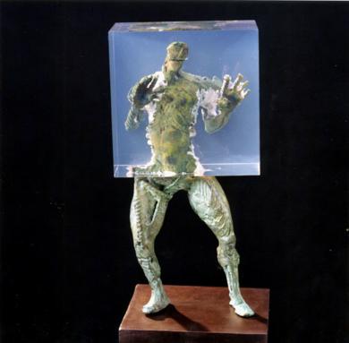 OCLUSIÓN PARCIAL|EsculturadeFernando Suárez| Compra arte en Flecha.es