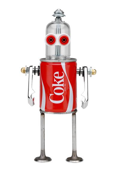 Coke|EsculturadePitarque Robots| Compra arte en Flecha.es
