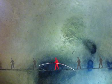 El funambulista|DigitaldeAlbarran| Compra arte en Flecha.es
