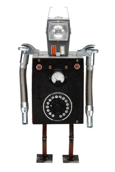Reductor|EsculturadePitarque Robots| Compra arte en Flecha.es