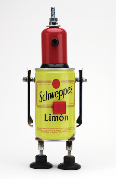Schweppes|EsculturadePitarque Robots| Compra arte en Flecha.es