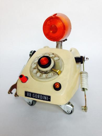 TelephoneBot|EsculturadePitarque Robots| Compra arte en Flecha.es